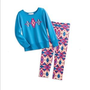 e9d4824f50 American Girl- Patterned Pajama Set for Girls